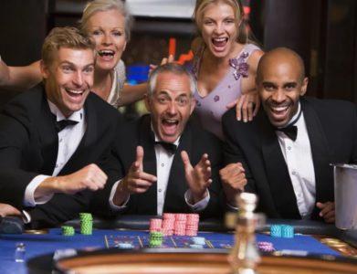 Большой выигрыш в казино