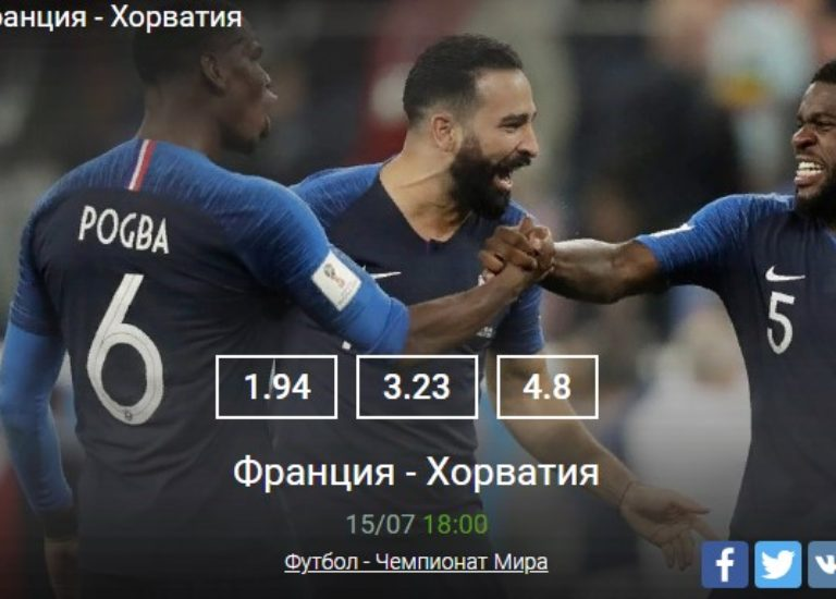 Франция — Хорватия