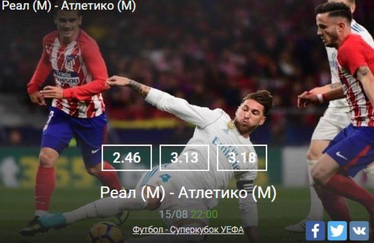Реал — Атлетико
