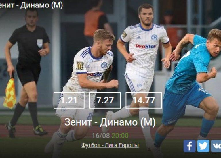 Зенит — Динамо