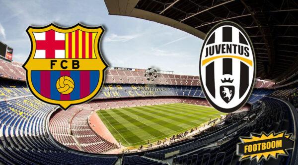 #футбол Барселона - Ювентус