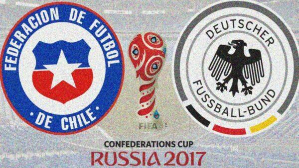 Футбол Чили - Германия