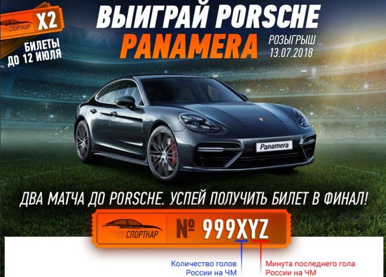 PORSCHE PANAMERA В WINLINE