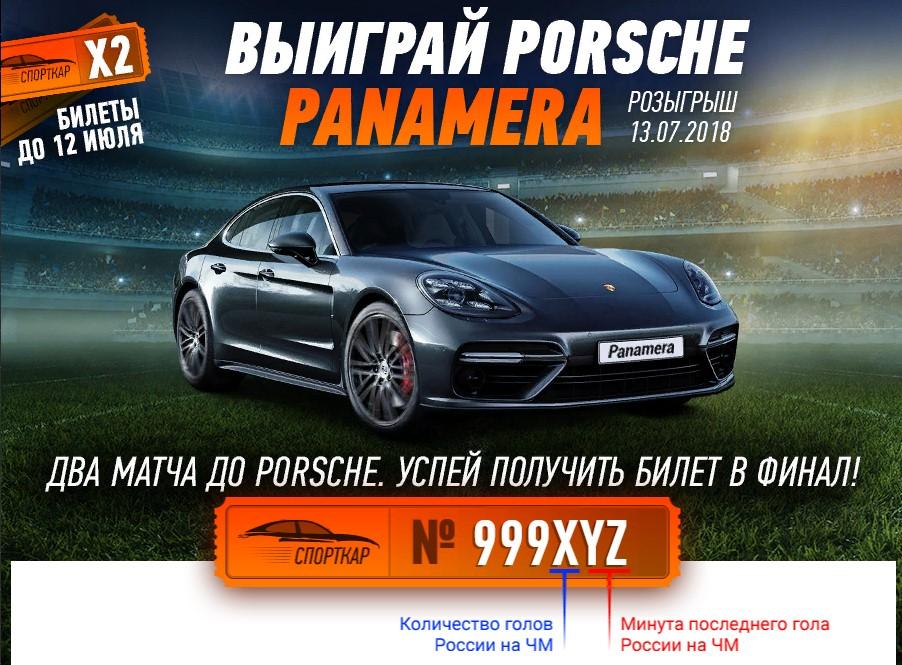 PORSCHE PANAMERA В WINLINE 2018