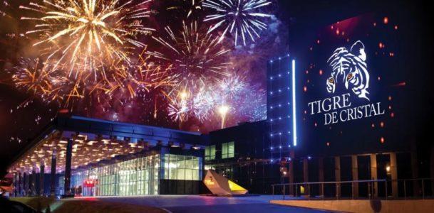 Тигре де Кристалл в ночное время