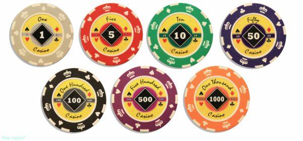 фишки для игры в рулетку