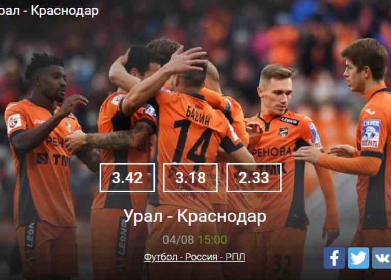 Урал – Краснодар