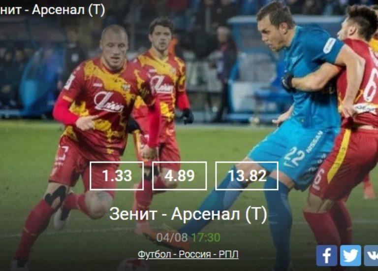 Зенит – Арсенал