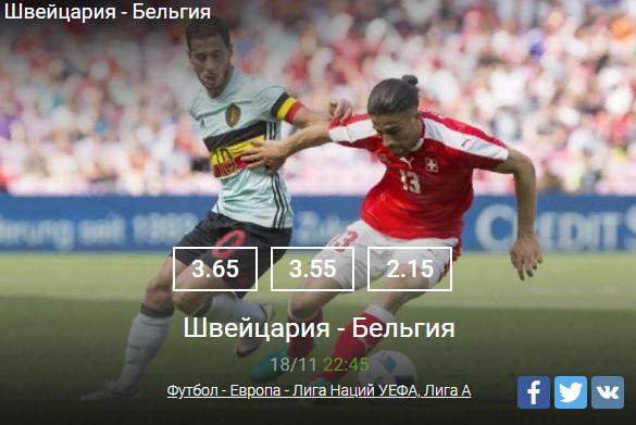 Футбол - Европа - Лига Наций УЕФАСпорт, ставки