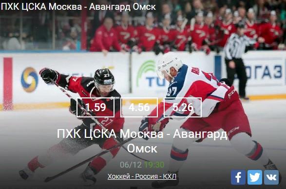 Хоккей - Россия - КХЛ