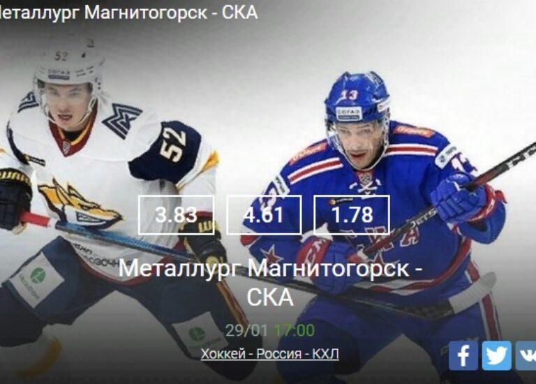 Металлург Магнитогорск – СКА