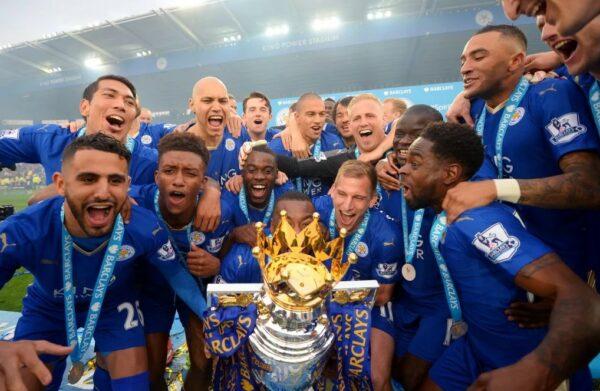 Лестер Сити чемпион Англии 2015-2016 годСпорт, ставки