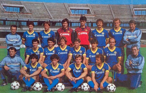 """Верона"", Италия, сезон 1984-1985"