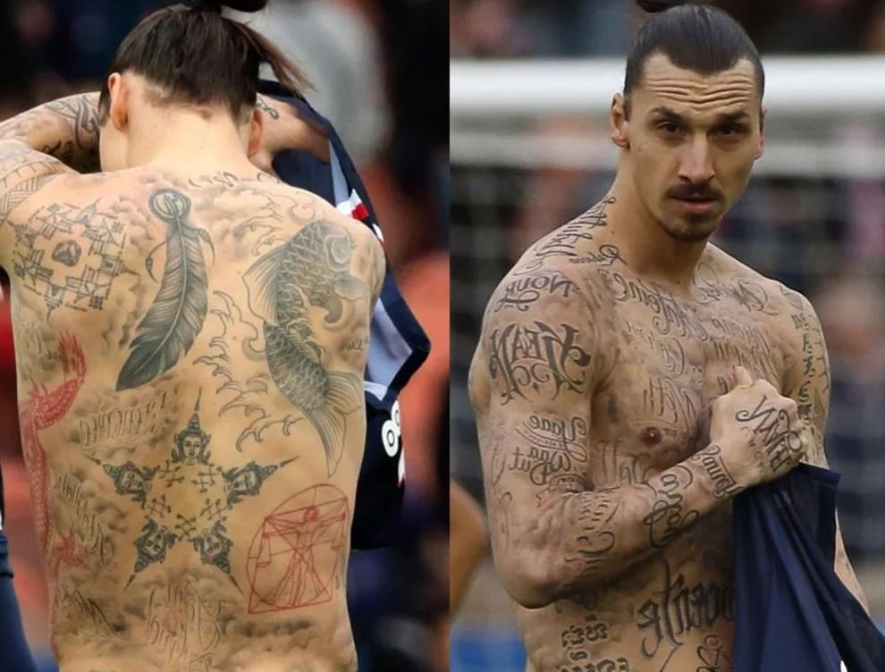 Златан Ибрагимович татуировки и что они обозначаютСпорт, ставки
