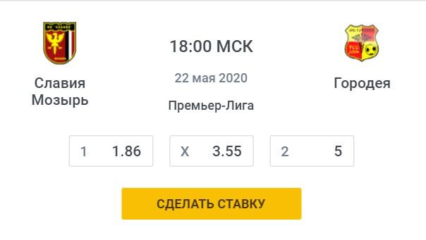 Славия-Городея футбол БеларусьСпорт, ставки